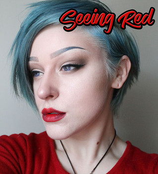Seeing Red - Full Makeup Tutorial