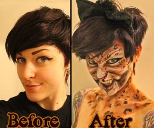 Easy Realistic Cat Makeup Tutorial