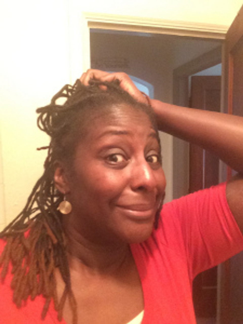 My locs need holistic love - can't hide from my loctician!
