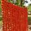 Thumbnail: 50 piece Dark Orange Artificial Marigold Garland Set