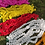 Thumbnail: 100 Strand Artificial Marigold Garland Extra Large Multi Color Pack