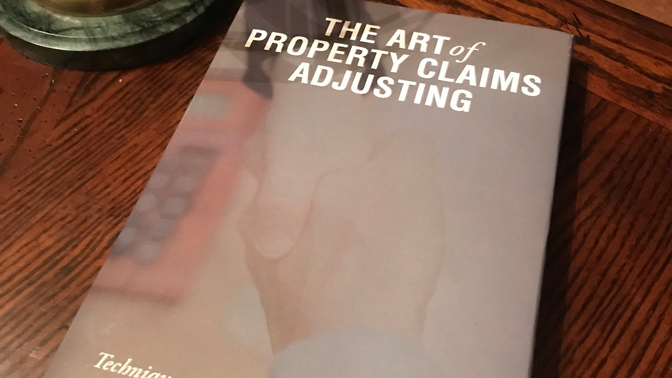The Art of Property Claims Adjusting - Paperback