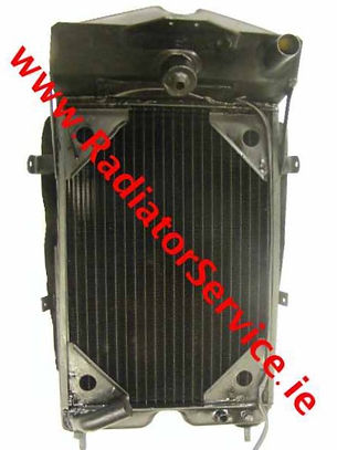reconditioned vintage riley radiator