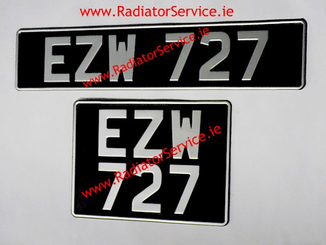 Vintage Number Plates are available from our web shop or from our store in Dublin.