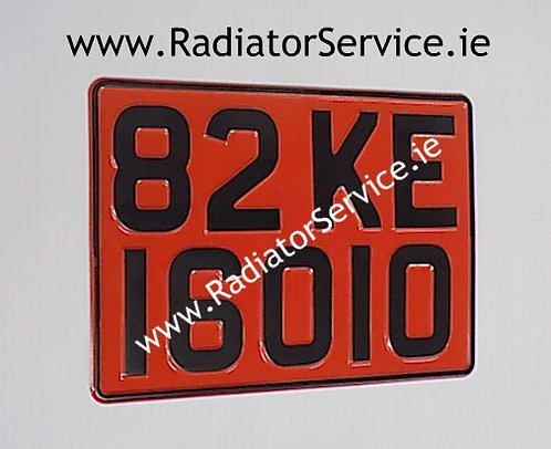 1 Only Square Pressed Plate 280x200mm
