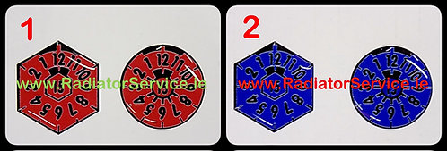 German Plakettes Stickers x 2 of your Choice