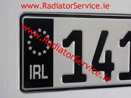 Pair of Black Flag IRL German Pressed Plates