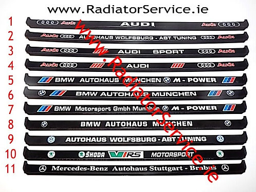 Number Plate Frame(s) of your Choice (x46)