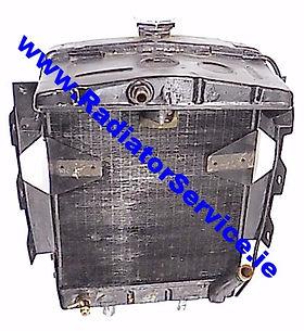 vintage triump radiator