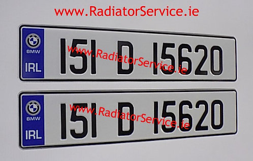 Pair of IRL Show Pressed Plates with Logo Choice (Not NCT)