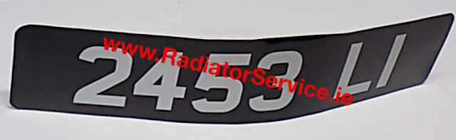 Sticker Vintage Number Plates and Euro Sticker Number Plates are available in different sizes and co