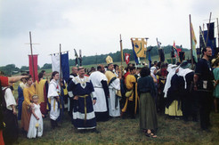 Gathering of Acre and SCA people