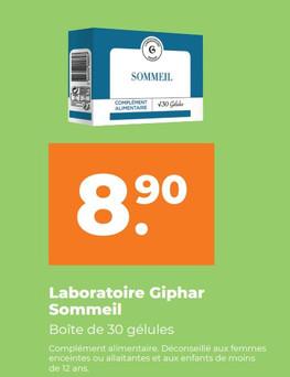Sommeil Laboratoire GIPHAR