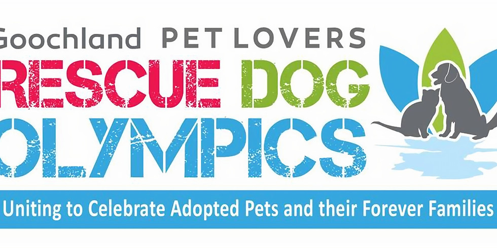 2nd Annual Rescue Dog Olympics