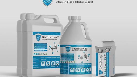 Dioxychlor's BactiBarrier hygiene system