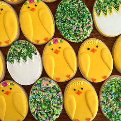 Happy Easter!_Totally cute Sugar Cookies