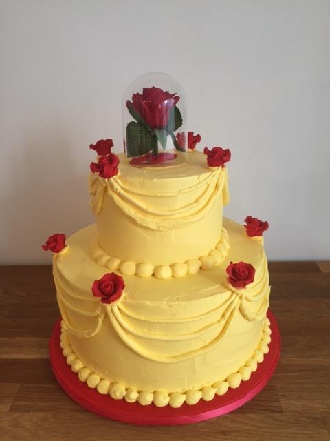 Custom Belle Cake