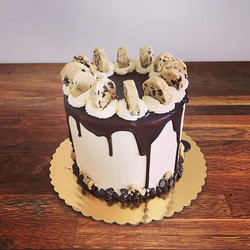 That #cookiedoughthough!_Vanilla cake fi