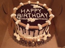 Vanilla Ganache Cake