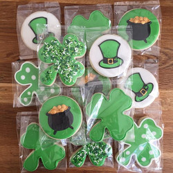 Happy St Patrick's Day!_Sugar cookies de