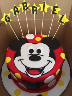 Custim Mickey Mouse Cake