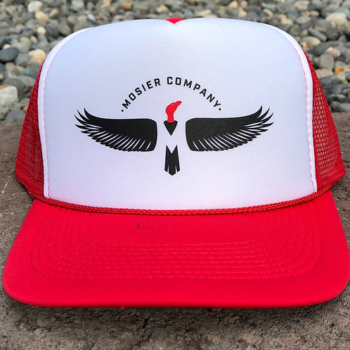 MoCo Trucker Hat (red/white)