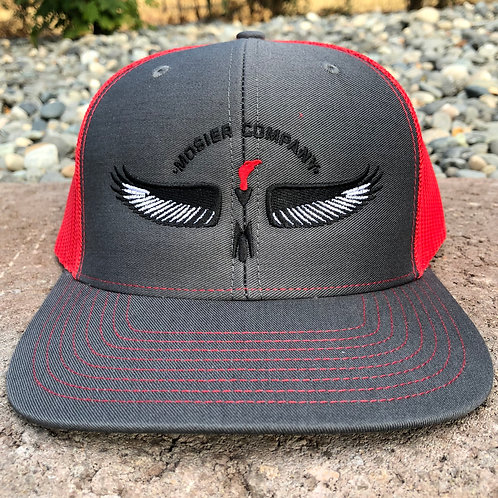 MoCo Baseball Hat (red/black)