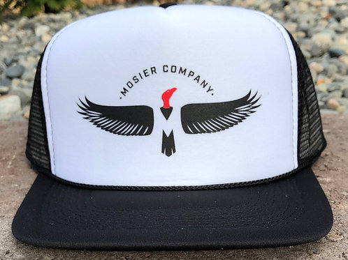 MoCo Trucker Hat (black/white)