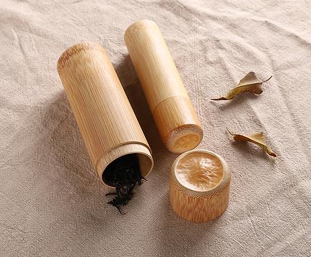 Japanese Bamboo Tea Storage Bottle