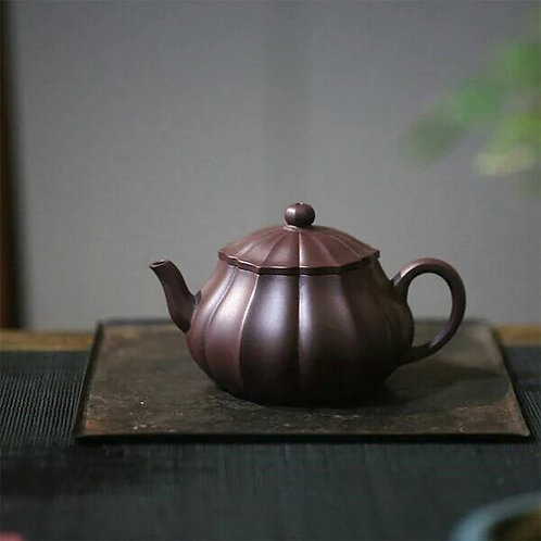 Yixing Zisha Clay LinHua Teapot (260ml)