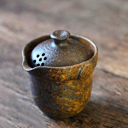 Rusty Copper Gun Clay Gaiwan (145ml)