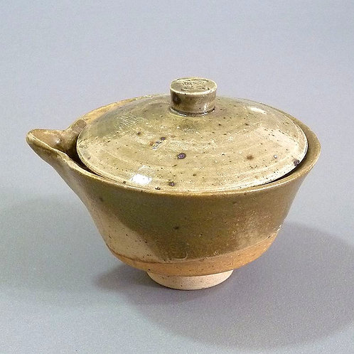 350 Year Dragon Kiln Woodfired Coarse Clay Gaiwan (Unglazed)