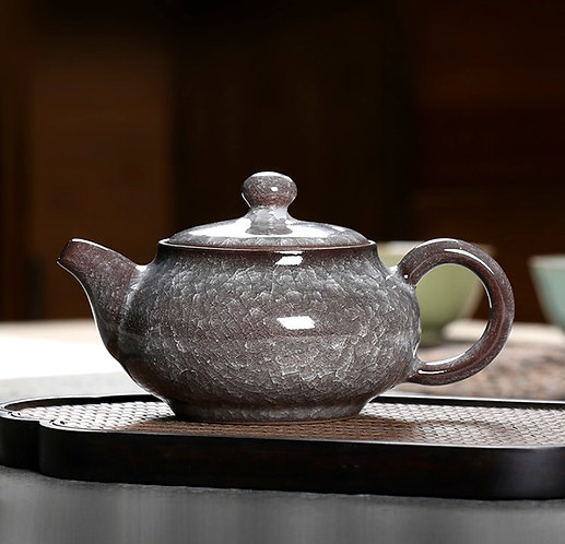Diamond Granite Teapot