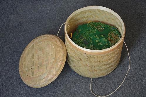 Jumbo Bamboo Puerh Cake Basket