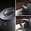 Thumbnail: Yixing Zisha Black Clay Over the Dragon Gate Teapot (220ml)