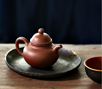 Yixing Zisha Base Clay Ryukyu Teapot (185ml)