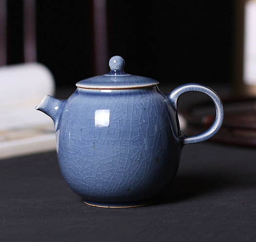 Woodfired Lavender Teapot