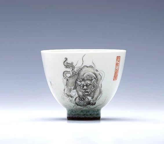 Raging Pixiu Teacups