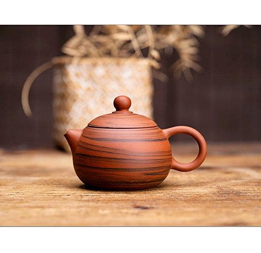 Zisha Zhu Clay Sumatran Tiger Chiu Chow Teapot (100ml)