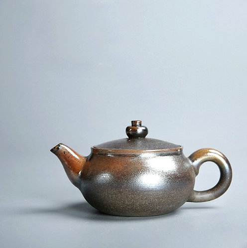 Premium Woodfired Coarse Clay Teapot - Monster Mouth