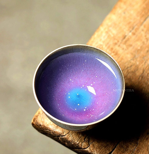 Purple Galaxy Teacups