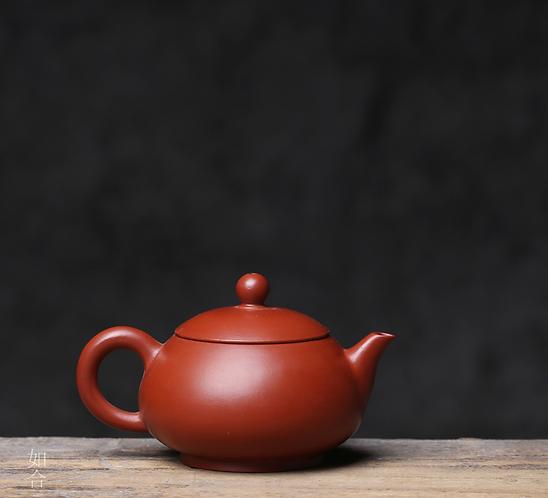 Zisha Zhu Clay Long Nose Xishi Chiu Chow Teapot (100ml)