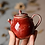Thumbnail: Woodfired Brook Red Christmas Hat Teapot