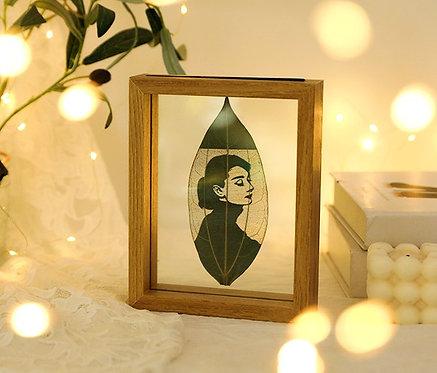 Teak Leaf Gift Set