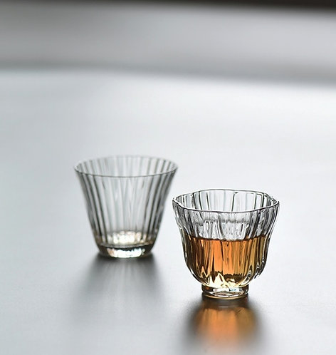 Fancy Water Drip Glass Cup