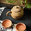 Thumbnail: Woodfired Natural Old Rock Coarse Clay Banana Teapot (200ml)