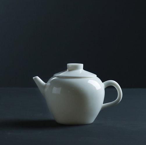 Cloud White Julun Teapot