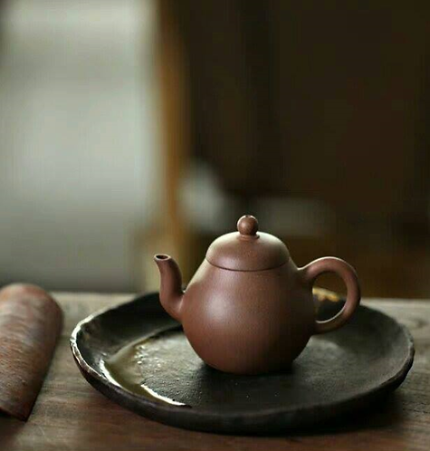 Yixing Zisha Grey Clay MingChing Teapot (130ml)