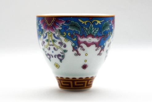 Royal Magnolia Silver Teacup