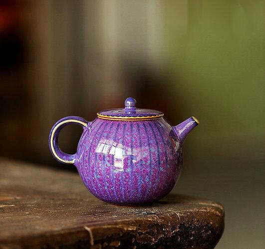 Purple Allium Teapot